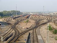 Simulation-based optimization of a railroad yard