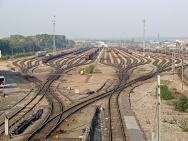 Simulation-based optimization of a railroad yard